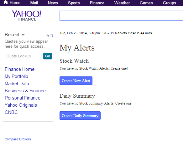 When did yahoo get started?